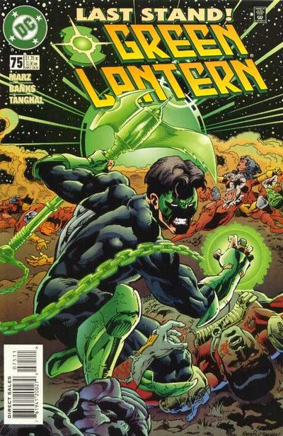 Cover for Green Lantern (DC, 1990 series) #75