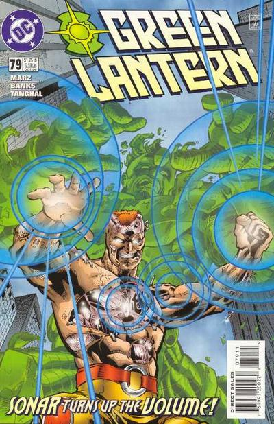 Cover for Green Lantern (DC, 1990 series) #79 [Newsstand]