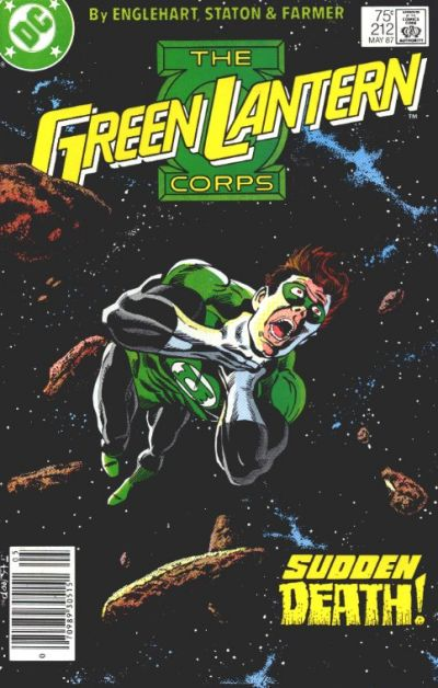 Cover for The Green Lantern Corps (DC, 1986 series) #212 [Direct Edition]