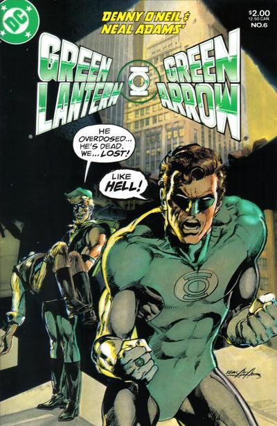 Cover for Green Lantern / Green Arrow (DC, 1983 series) #6