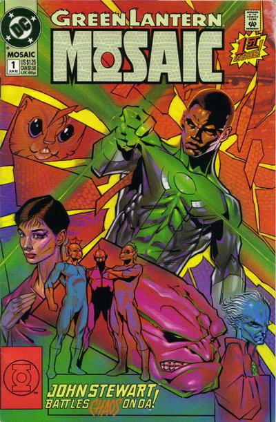 Cover for Green Lantern: Mosaic (DC, 1992 series) #1