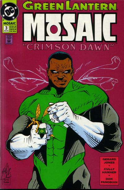Cover for Green Lantern: Mosaic (DC, 1992 series) #3