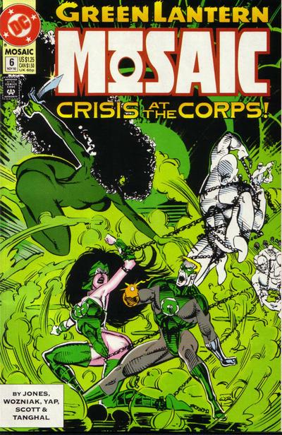 Cover for Green Lantern: Mosaic (DC, 1992 series) #6