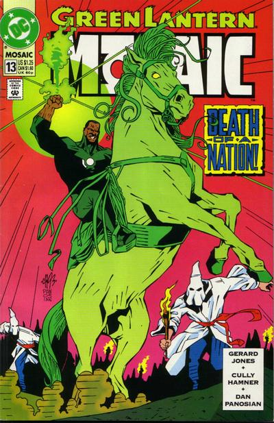 Cover for Green Lantern: Mosaic (DC, 1992 series) #13 [Direct Edition]