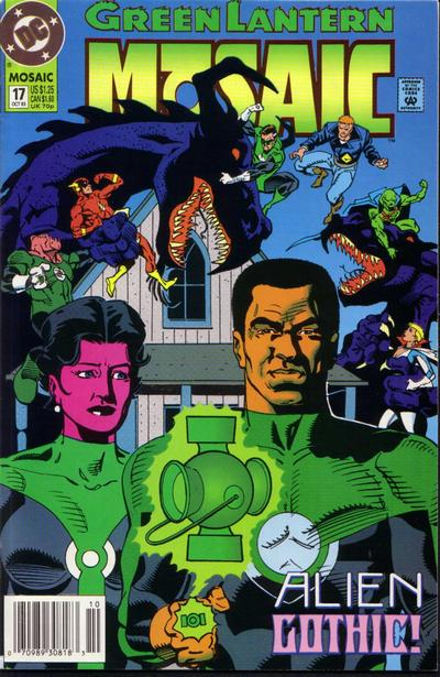 Cover for Green Lantern: Mosaic (DC, 1992 series) #17 [Direct]