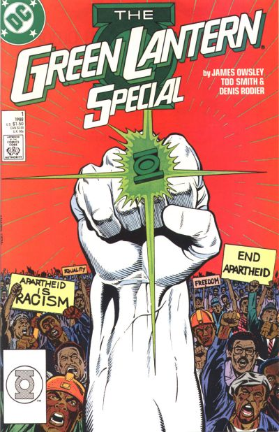 Cover for Green Lantern Special (DC, 1988 series) #1