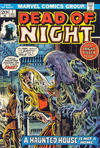 Cover for Dead of Night (Marvel, 1973 series) #1