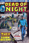 Cover for Dead of Night (Marvel, 1973 series) #3