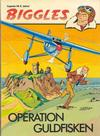 Cover for Biggles (Semic, 1977 series) #2 - Operation guldfisken