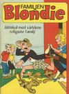 Cover for Blondie - Familjen Blondie (Semic, 1965 series) #[nn]