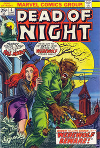 Cover Thumbnail for Dead of Night (Marvel, 1973 series) #4