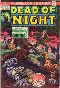 Cover Thumbnail for Dead of Night (Marvel, 1973 series) #5