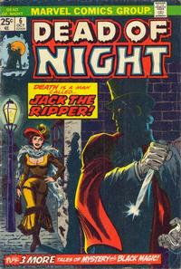 Cover Thumbnail for Dead of Night (Marvel, 1973 series) #6