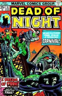 Cover Thumbnail for Dead of Night (Marvel, 1973 series) #10 [Regular Edition]