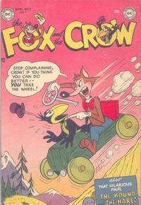 Cover Thumbnail for The Fox and the Crow (DC, 1951 series) #4