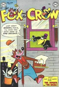 Cover Thumbnail for The Fox and the Crow (DC, 1951 series) #7