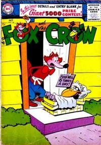 Cover Thumbnail for The Fox and the Crow (DC, 1951 series) #36