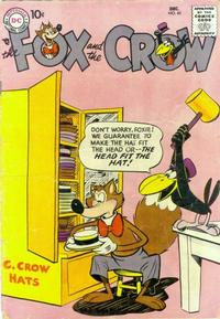 Cover Thumbnail for The Fox and the Crow (DC, 1951 series) #45