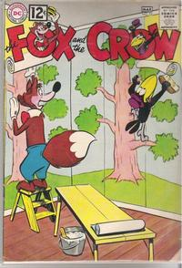 Cover Thumbnail for The Fox and the Crow (DC, 1951 series) #72
