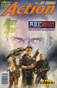 Cover Thumbnail for Actionserien (Atlantic Förlags AB; Pandora Press, 1991 series) #2/1991