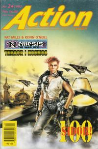 Cover Thumbnail for Actionserien (Atlantic Förlags AB; Pandora Press, 1991 series) #2/1992