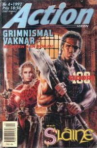 Cover Thumbnail for Actionserien (Atlantic Förlags AB; Pandora Press, 1991 series) #4/1992