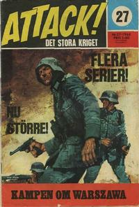 Cover Thumbnail for Attack (Semic, 1967 series) #27/1968