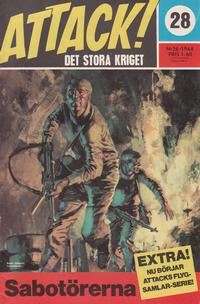 Cover Thumbnail for Attack (Semic, 1967 series) #28
