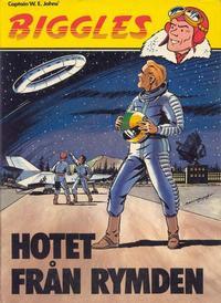 Cover Thumbnail for Biggles (Semic, 1977 series) #4 - Hotet från rymden