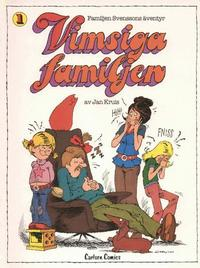 Cover Thumbnail for Familjen Svenssons äventyr (Carlsen/if [SE], 1980 series) #1 - Vimsiga familjen