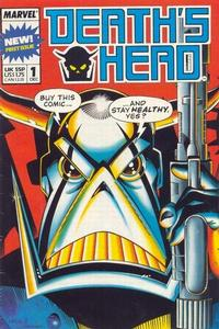 Cover Thumbnail for Death's Head (Marvel UK, 1988 series) #1