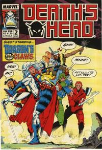 Cover Thumbnail for Death's Head (Marvel UK, 1988 series) #2