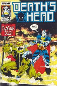 Cover Thumbnail for Death's Head (Marvel UK, 1988 series) #4