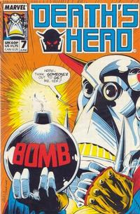 Cover Thumbnail for Death's Head (Marvel UK, 1988 series) #7