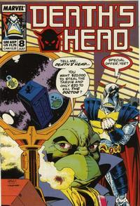 Cover Thumbnail for Death's Head (Marvel UK, 1988 series) #8