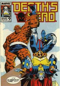 Cover Thumbnail for Death's Head (Marvel UK, 1988 series) #9