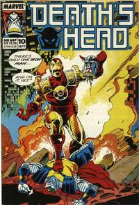 Cover Thumbnail for Death's Head (Marvel UK, 1988 series) #10