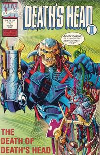 Cover Thumbnail for Death's Head II (Marvel, 1992 series) #1 [Direct]