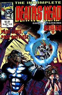 Cover Thumbnail for The Incomplete Death's Head (Marvel, 1993 series) #1