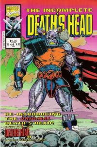 Cover Thumbnail for The Incomplete Death's Head (Marvel, 1993 series) #2