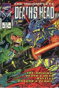 Cover Thumbnail for The Incomplete Death's Head (Marvel, 1993 series) #3