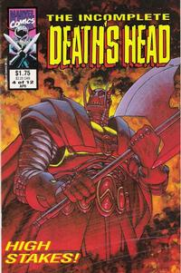 Cover Thumbnail for The Incomplete Death's Head (Marvel, 1993 series) #4