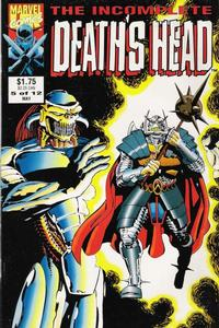 Cover Thumbnail for The Incomplete Death's Head (Marvel, 1993 series) #5