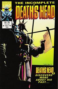 Cover Thumbnail for The Incomplete Death's Head (Marvel, 1993 series) #6