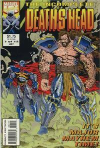 Cover Thumbnail for The Incomplete Death's Head (Marvel, 1993 series) #7