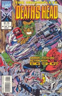 Cover Thumbnail for The Incomplete Death's Head (Marvel, 1993 series) #8