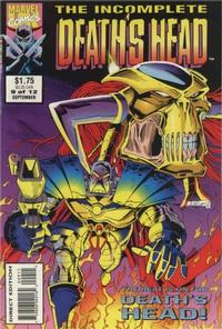 Cover Thumbnail for The Incomplete Death's Head (Marvel, 1993 series) #9