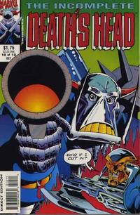 Cover Thumbnail for The Incomplete Death's Head (Marvel, 1993 series) #10