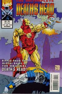 Cover Thumbnail for The Incomplete Death's Head (Marvel, 1993 series) #11