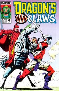 Cover Thumbnail for Dragon's Claws (Marvel, 1988 series) #4